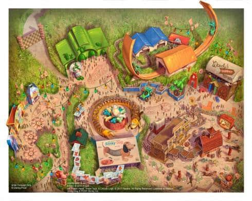 imagem Disney Toy Story Land