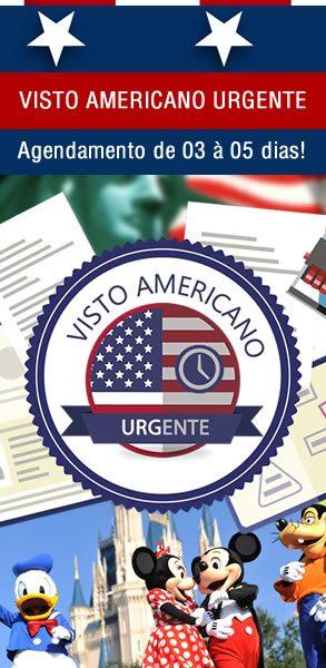 Banner Visto Americano Urgente