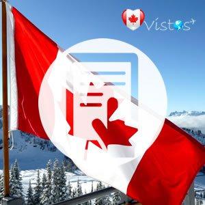 Documentação visto canadense