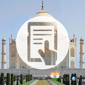 Documentação Visto para India