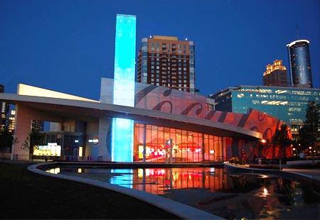 Atlanta nos EUA - Museu da Coca-cola - S2 Vistos