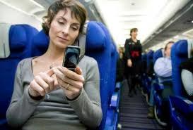 EUA Uso de celular em avião