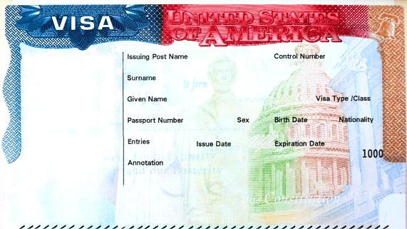 Emissão de Visto EUA