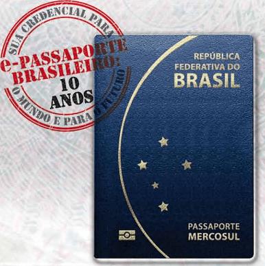 Novo Passaporte Eletrônico Barsileiro