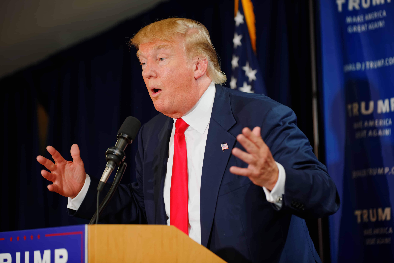 Donald Trump pronunciamento visto americano de trabalho.