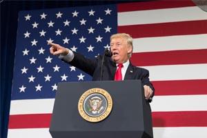 Veto de visto americano - Donald Trump