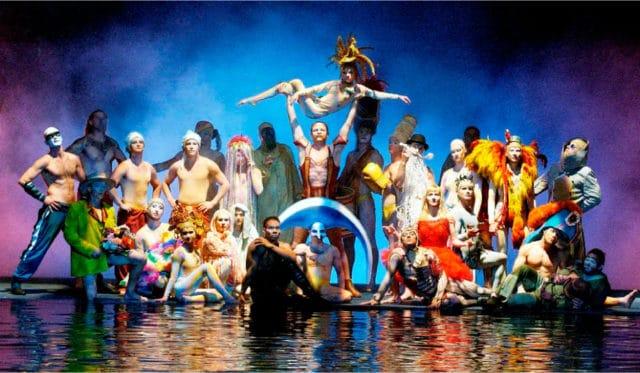 Voo para Las Vegas - Cirque du Soleil