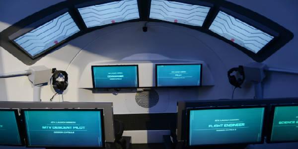 Treinamento de astronauta atx-interior