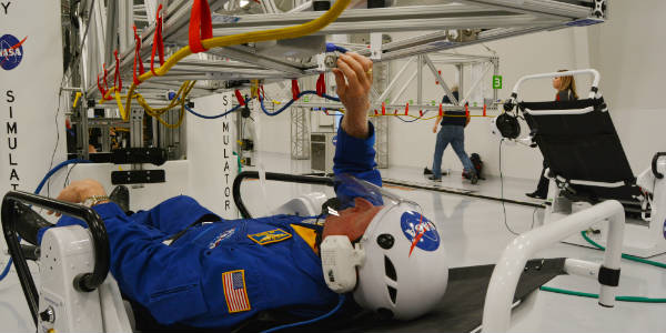 Treinamento de astronauta atx-microgravidade