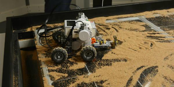 Treinamento de Astronauta Mars1 Rover