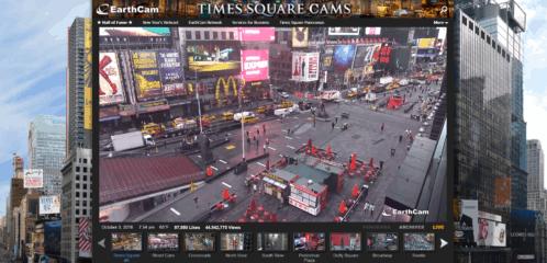 Câmeras ao vivo nos Estados Unidos