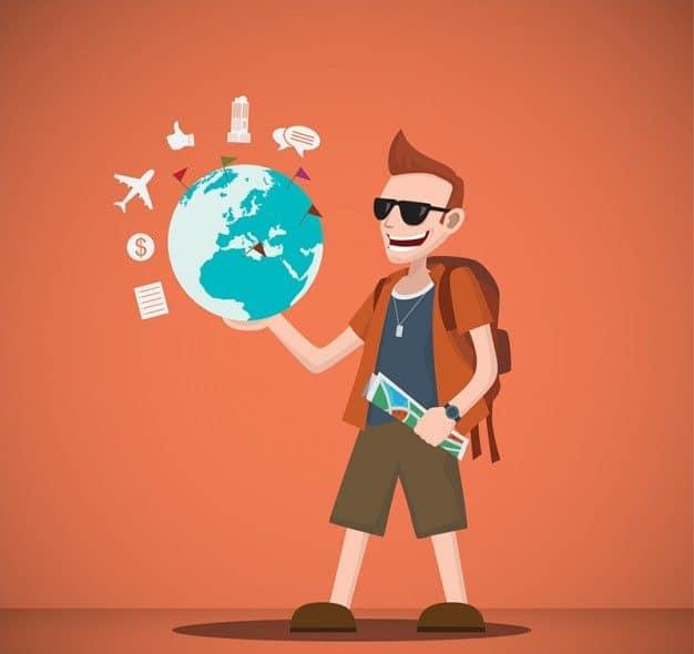 Orientações para viajantes que vão ao exterior