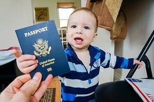 Viagem Internacional para menor