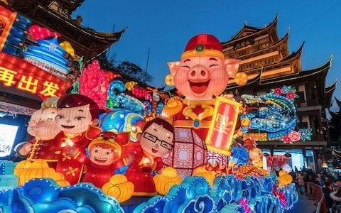 Shanghai Ano Novo