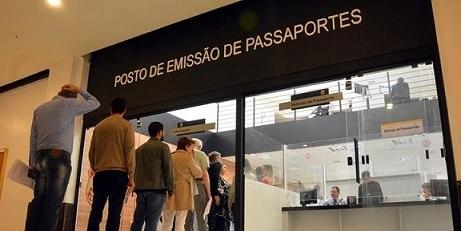 Polícia Federal passaporte