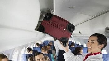 Bagagem de mão avião