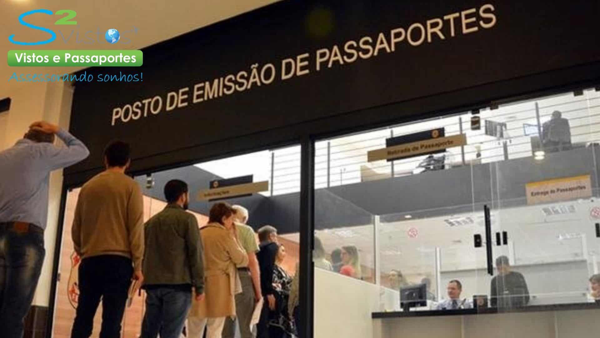 imagem Polícia Federal passaporte