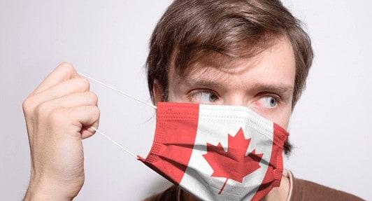 Isolamento social no Canadá