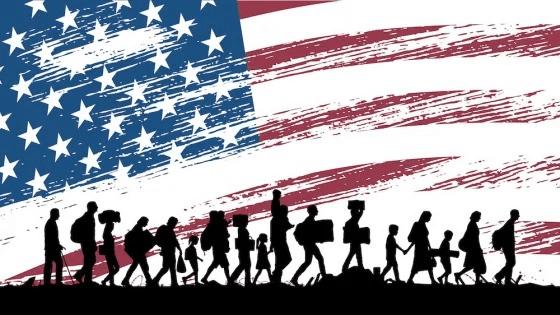 Suspensão da entrada de imigrantes nos EUA