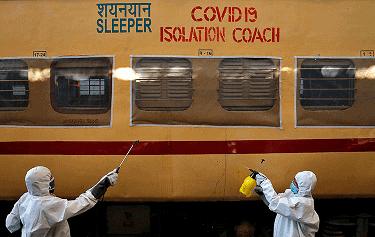 Melhora da Pandemia na Índia