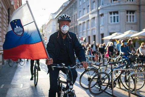 imagem Pandemia na Eslovênia