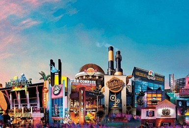 Retorno da Disney Springs em Orlando