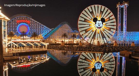 Disney reabre na Califórnia