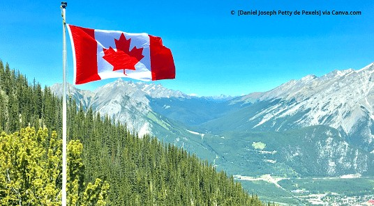 imagem Entrada de brasileiros no Canadá 2021